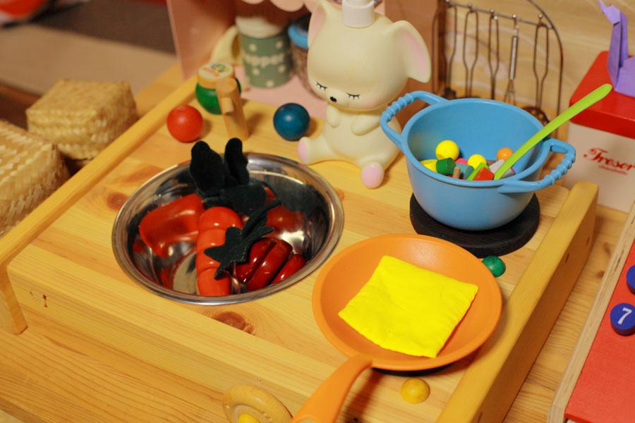 木のおもちゃ,コンロ,キッチン,ままごと