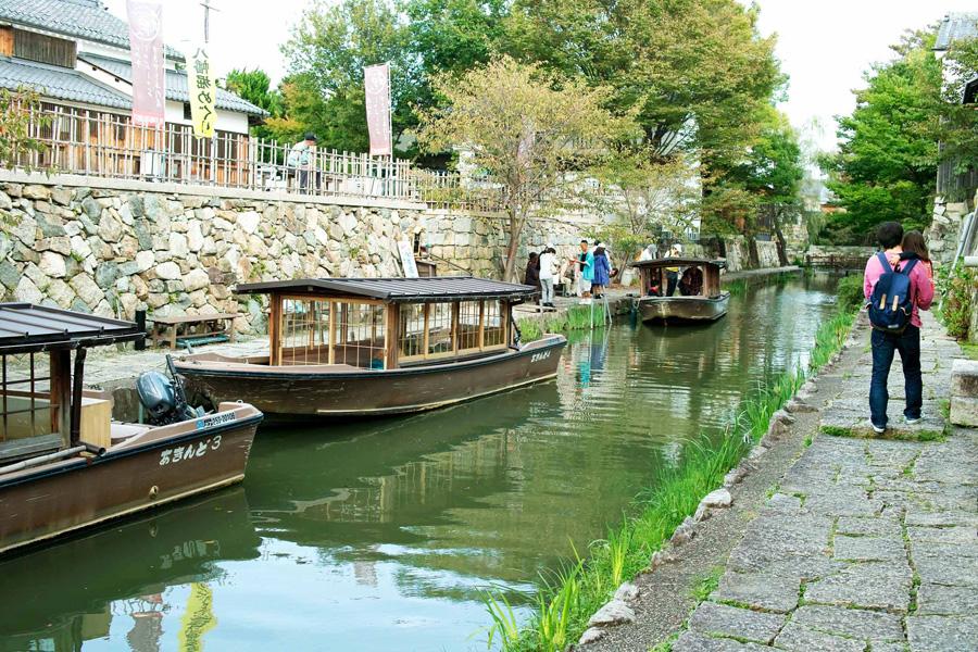 八幡堀,滋賀,観光,おすすめ