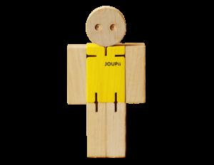 イル・レシオの木のおもちゃポキポキ人形JOUPii