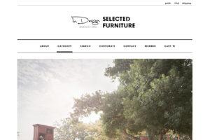 家具オンラインショップホームページデザイン