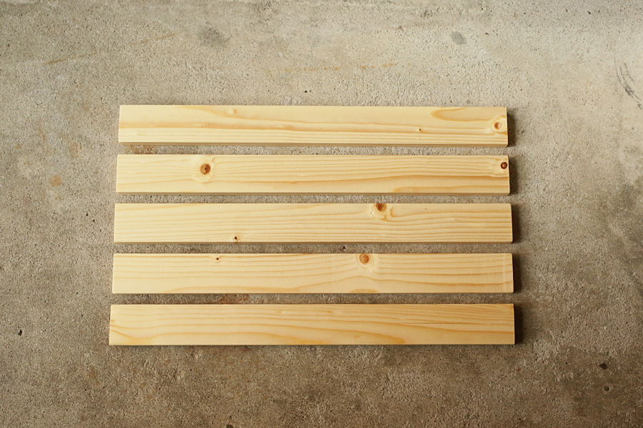 手作りローチェア