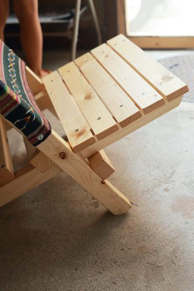 手作りローチェア 自作 DIY ブルーリッジチェアワークス
