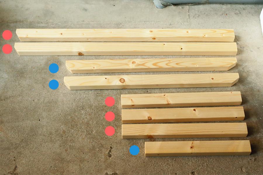 手作りローチェア 自作 DIY ブルーリッジチェアワークス キャンプ