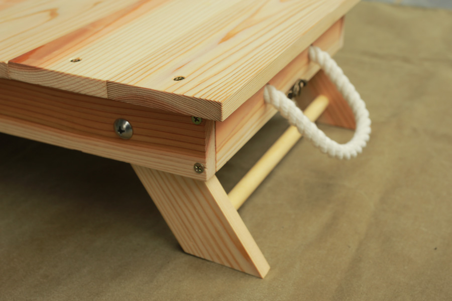 ローテーブル 自作DIY 折りたたみテーブル キャンプ アウトドア