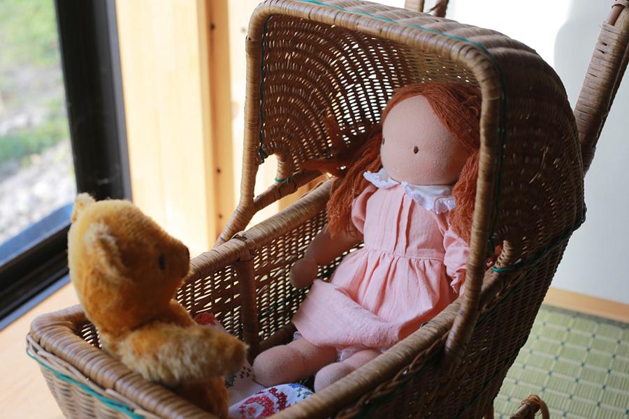 ウォルドルフ人形 自作 作りました