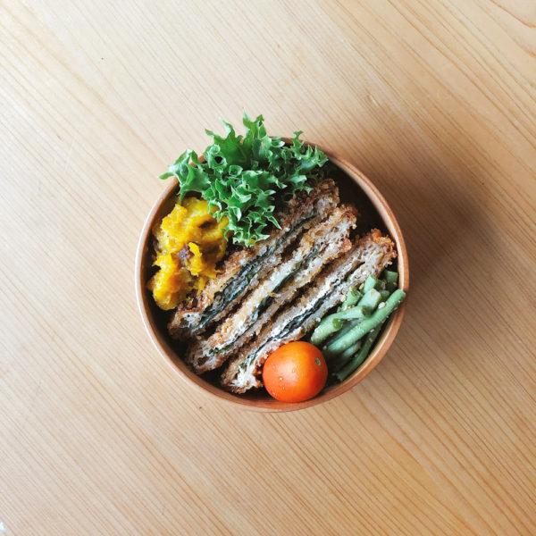 肉なし手作り弁当