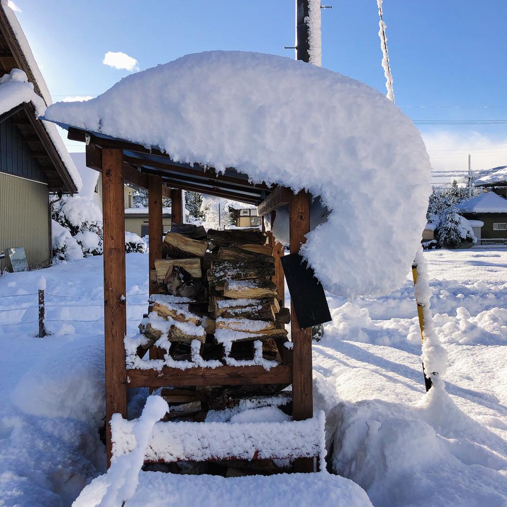 揖斐川町大雪